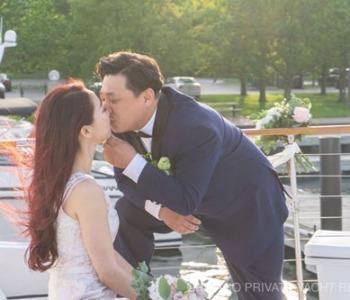 Hyeri and James wedding on Adeline's Sea Moose
