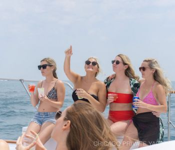 Lauren Schuster Private Yacht Bachelorette Lakefront Charter