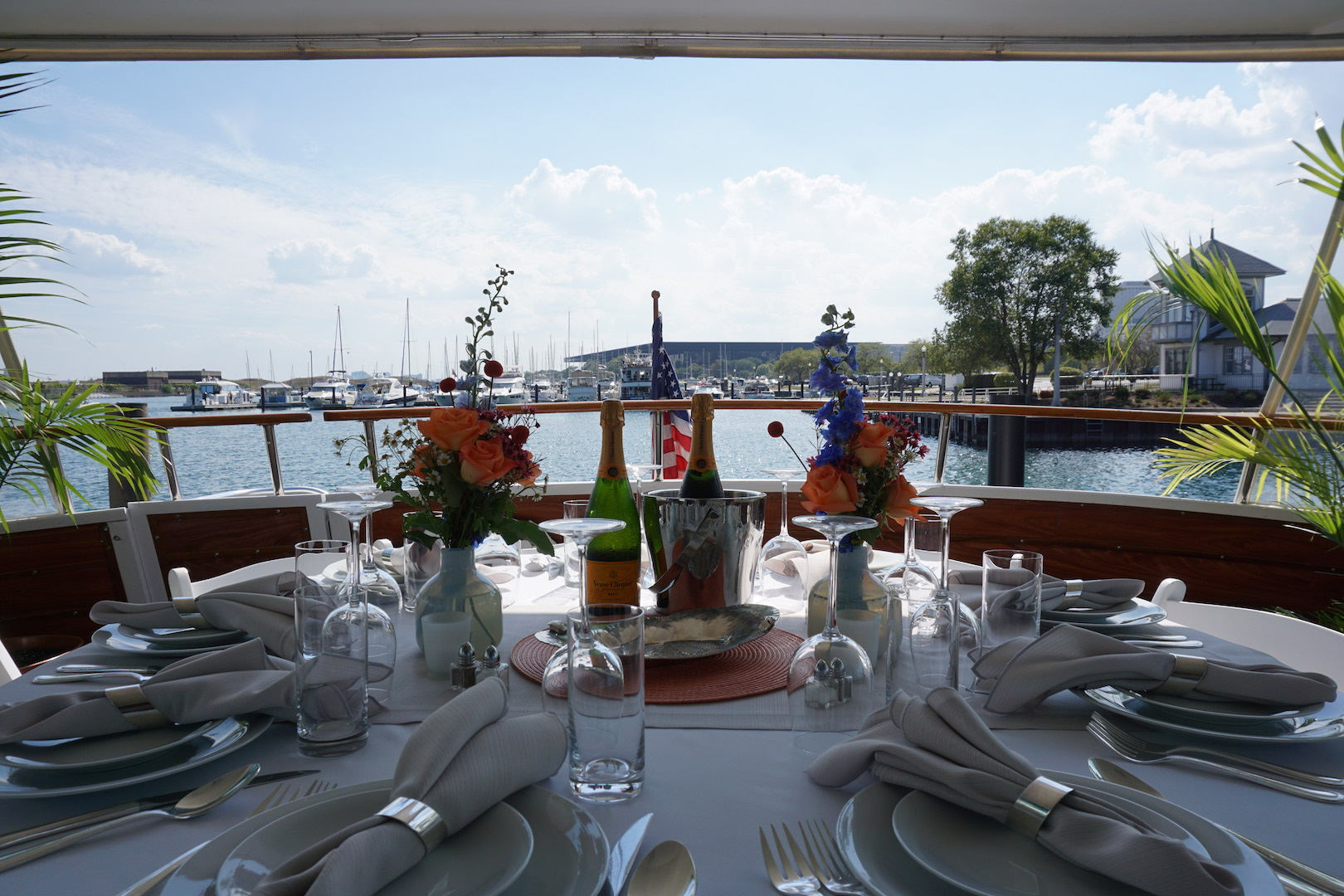 Private Yacht Dining