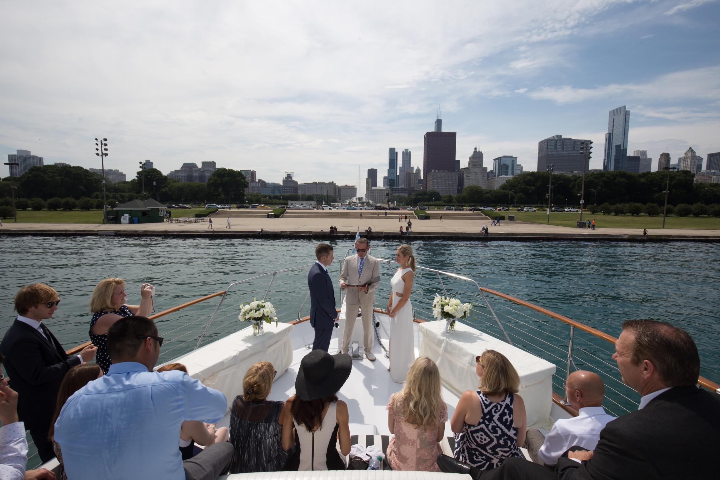 Weddings on Yacht