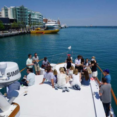 Adeline's Sea Moose Corporate Event charters