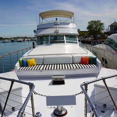 Adeline's Sea Moose Yacht Rental Dockside for Business and Pleasure