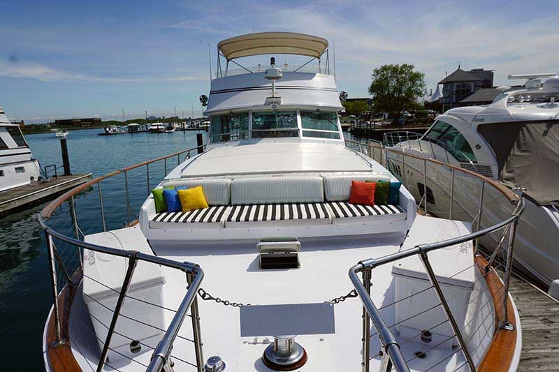 Adeline's Sea Moose Yacht Rental Dockside for Business and Pleasure