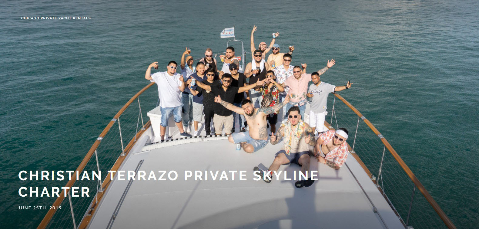 Christian Terrazo Private Skyline Charter
