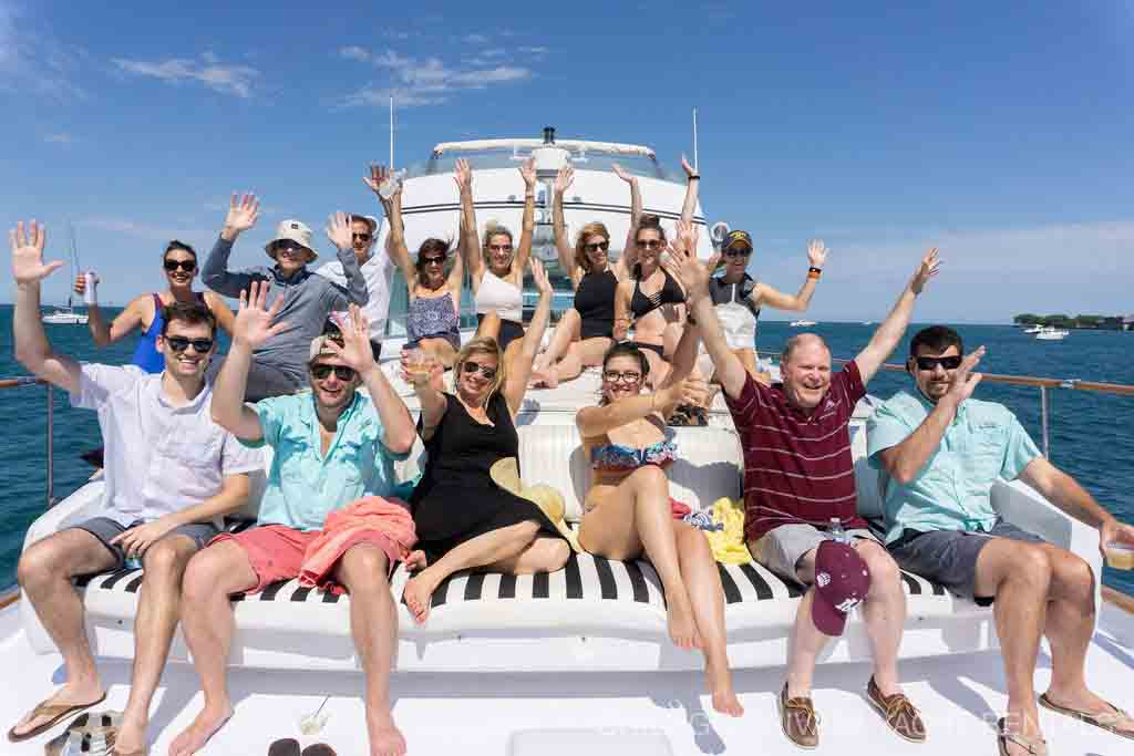 Talenfoot Corporate Private Yacht Charter on Adeline's Sea Moose
