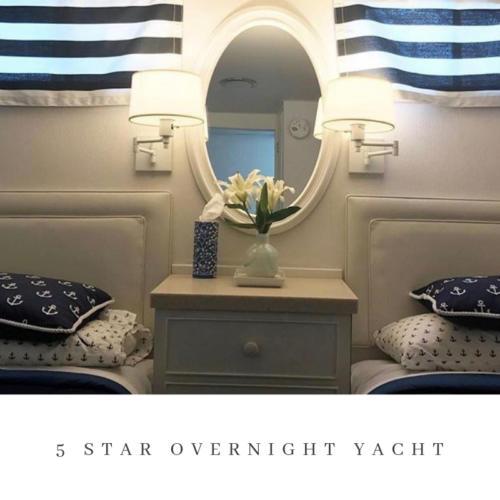 Adeline's Sea Moose 5 star overnight yacht