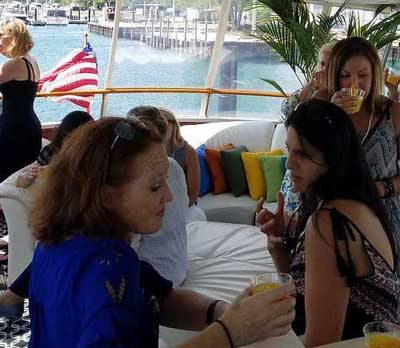 Adeline's Sea Moose Chicago private yacht rental charter Horseshoe casino excursion