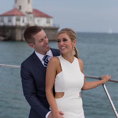 Adeline's Sea Moose Chicago private yacht rental for wedding ceremonies