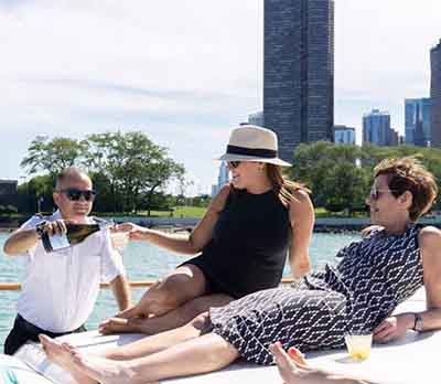 Adeline's Sea Moose chicago private yacht rental