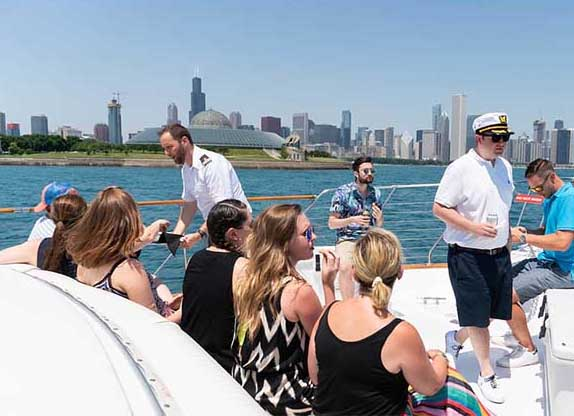 Adeline's Sea Moose private yacht rental in Chicago