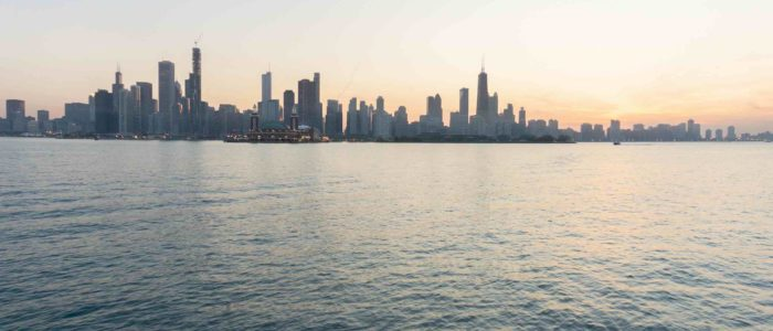 Breathtaking Views of the Chicago Skyline Readily Available on the Sea Moose
