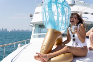 Celebrate your bachelorette party on Adeline's Sea Moose