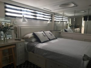 The Captain's suite on Adeline's Sea Moose