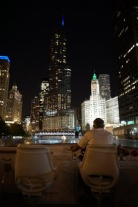 An Evening Cruise Down the Chicago River
