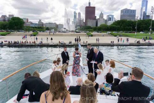 Wedding ceremony Adeline's Sea Moose