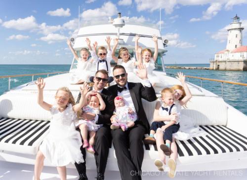 weddings aboard Adeline's Sea Moose