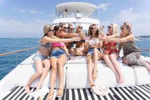 Adeline's Sea Moose Bachelorette yacht charters