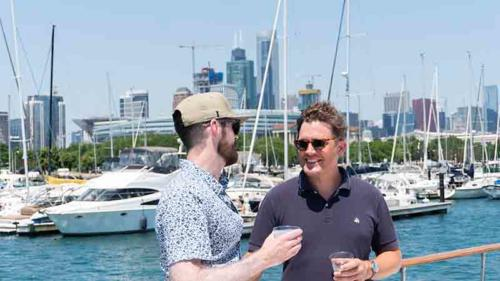 Chicago Private Yacht Rentals  Nonprofit Fundraising   Netwroking Picture